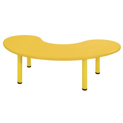 ECR4kids Kids Half Moon Table