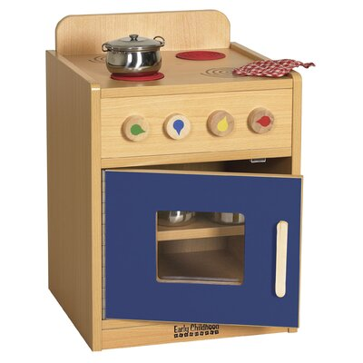 ECR4kids Colorful Essentials Play Stove