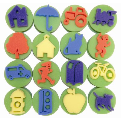 ECR4kids 16 Piece My 1st Community Stamper