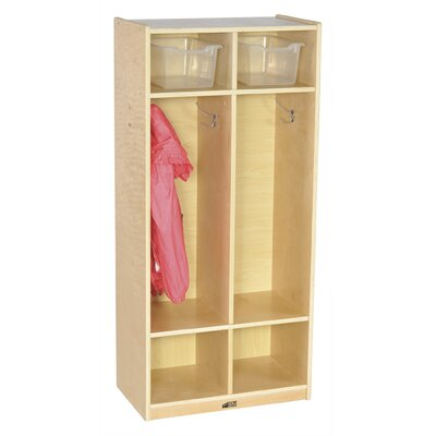 ECR4kids Two Section Straight Locker