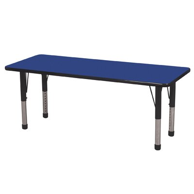 ECR4kids 24&quot; x 60&quot; Rectangular Adjustable Activity Table