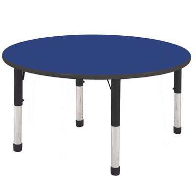 "ECR4kids 48"" Round Adjustable Activity Table"