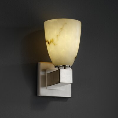 Justice Design Group Aero Clouds One Light Wall Sconce with No Arms