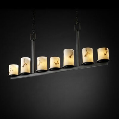 LumenAria Dakota 7 Light Chandelier