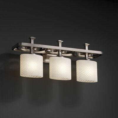 Justice Design Group Veneto Luce Arcadia 3 Light Bath Vanity Light