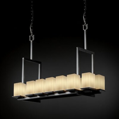 Fusion Montana 14 Light Bridge Tall Chandelier