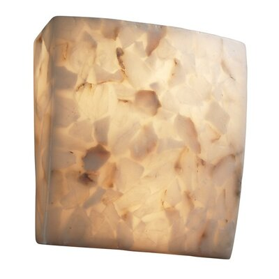 Justice Design Group Alabaster Rocks 2 Light Wall Sconce