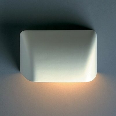 Justice Design Group Ambiance Scoop 1 Light Outdoor Wall Sconce