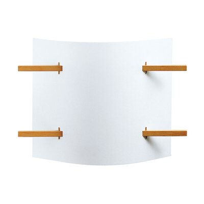 Justice Design Group Domus One Light Wall Sconce with Shade