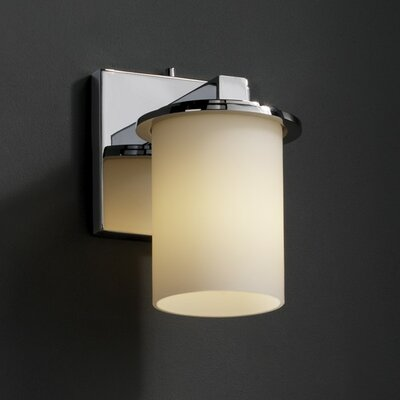 Justice Design Group Fusion Dakota 1 Light Wall Sconce