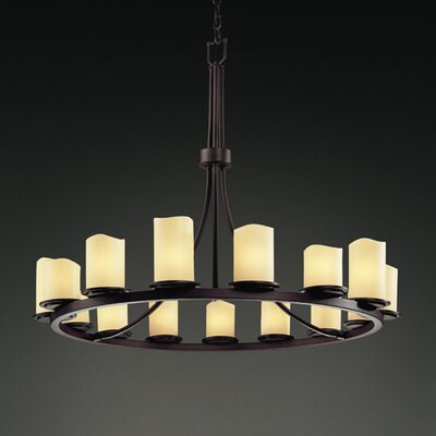 CandleAria Dakota 15 Light Chandelier