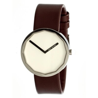 Issey Miyake Twelve Men's Leather Watch