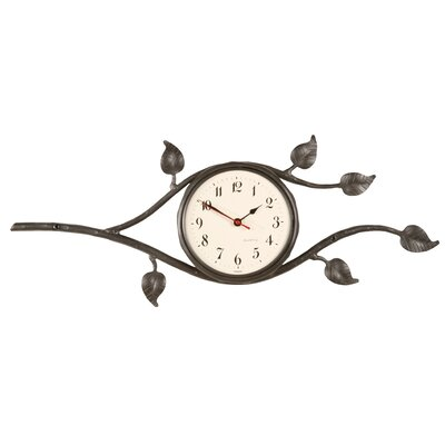 Leaf Wall Clock