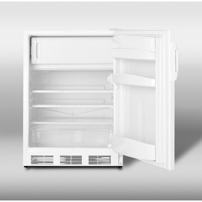 "Summit Appliance 32.25"" Refrigerator Freezer in White"