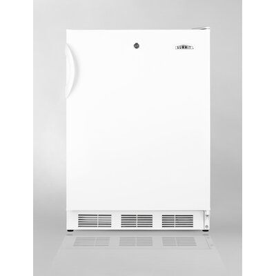 Summit Appliance Refrigerator Freezer in White