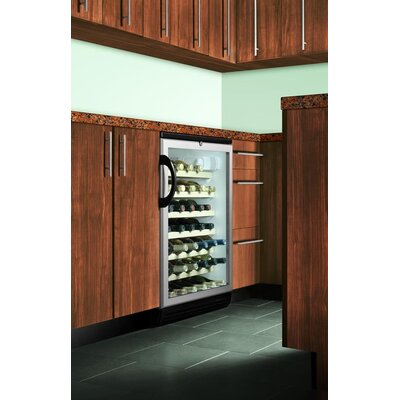 Summit Appliance Wine Cellar with Adjustable Wine Shelves in Black
