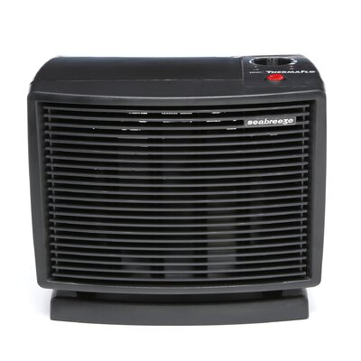 SeaBreeze Electric 1,500 Watt Compact Smart ThermaFlo Space Heater