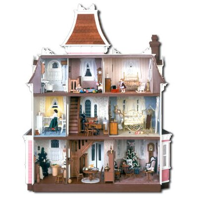 Greenleaf Dollhouses Beacon Hill Dollhouse Kit