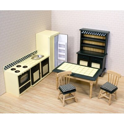 Melissa and Doug Dollhouse Kitchen Furniture