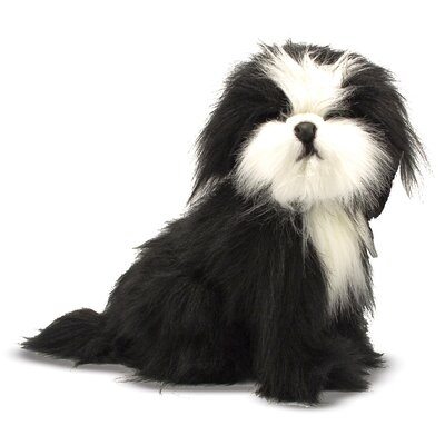 Melissa and Doug Shih Tzu Plush Stuffed Animal