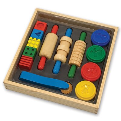 Melissa and Doug Clay Play Arts & Crafts Kit