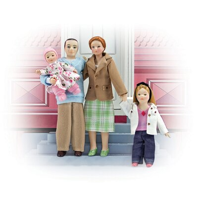 Melissa and Doug Family Doll Set