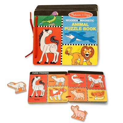Melissa and Doug Animal Puzzle Book