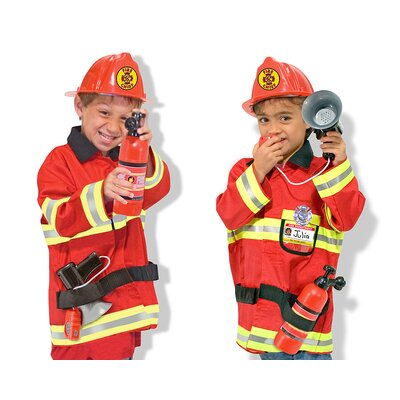 Melissa and Doug Fire Chief Role Play Costume Set