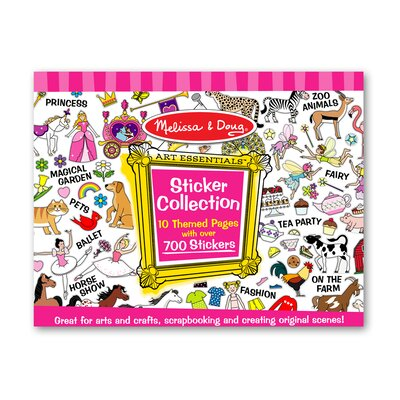 Melissa and Doug Sticker Collection in Pink