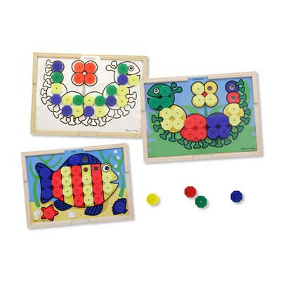 Melissa and Doug Sort and Snap Color Match