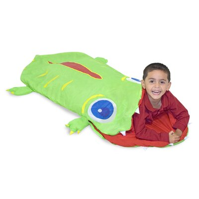 Melissa and Doug Augie Alligator Sleeping Bag
