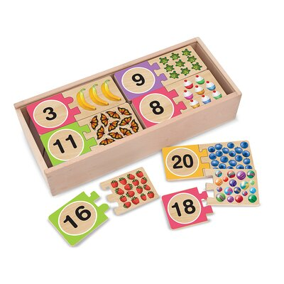 Melissa and Doug Self-Correcting Number Puzzle