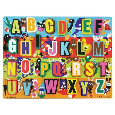 Melissa and Doug Jumbo ABC Chunky Wooden Puzzle