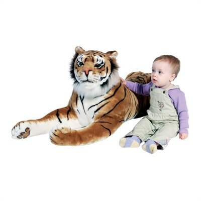 Large Tiger Stuffed Animal Plush Toy