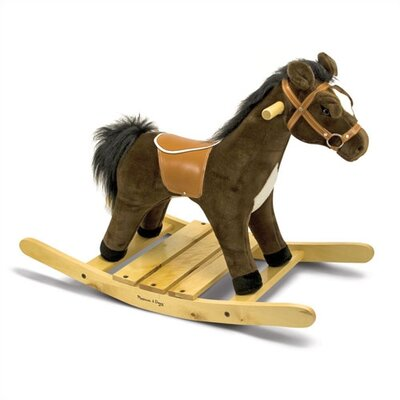 Melissa and Doug Plush Rocking Horse