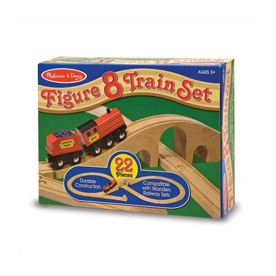 Melissa and Doug Figure 8 Train Set