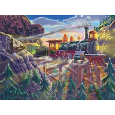 Melissa and Doug Eagle Canyon Railway Cardboard Jigsaw Puzzle