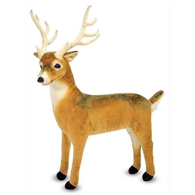 Melissa and Doug Deer Plush Stuffed Animal