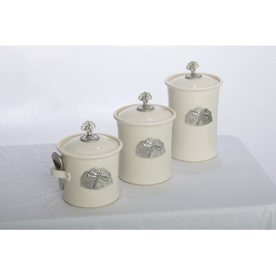 Buyers Choice Artisans Domestic Ceramic Canister (Set of 3)