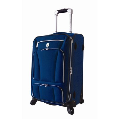 Travelers Club Rio 20&quot; Expandable EV Spinner Carry On