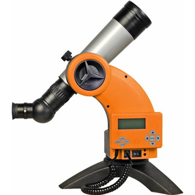 Astroboy 60mm Computerized Table Telescope in Cosmic Orange