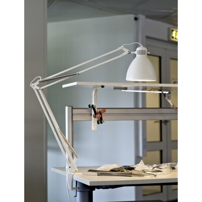 Luxo L-1 Edge Clamp Architect Lamp