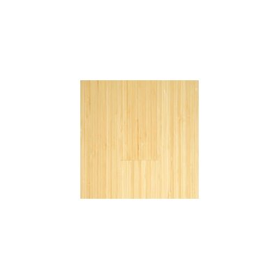 "Hawa Bamboo Vertical 5-3/8"" Engineered Bamboo Flooring in Natural Matte"