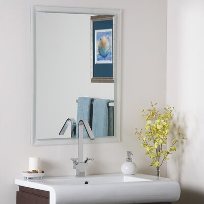 Decor Wonderland Frameless Kaleb Wall Mirror