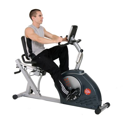 Body Flex Magnetic Recumbent Bike