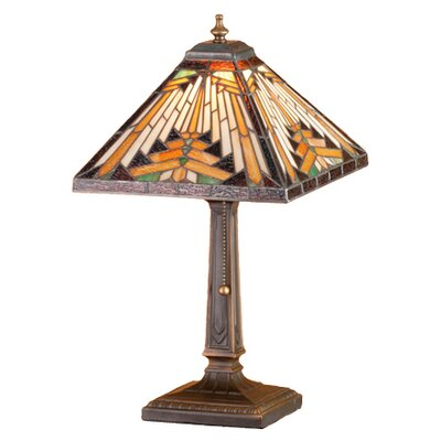Meyda Tiffany Nuevo Mission Accent Table Lamp