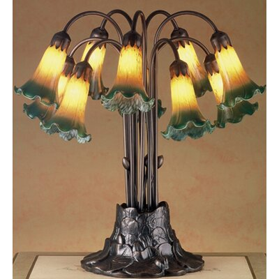 Meyda Tiffany Victorian Pond Lily 10 Light 22 Quot H Table