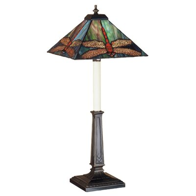 Meyda Tiffany Prairie Dragonfly Buffet Table Lamp
