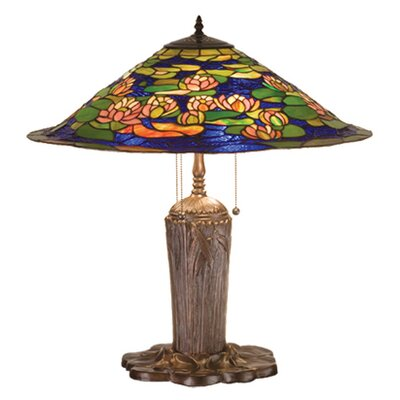 Meyda Tiffany Tiffany Pond Lily Table Lamp