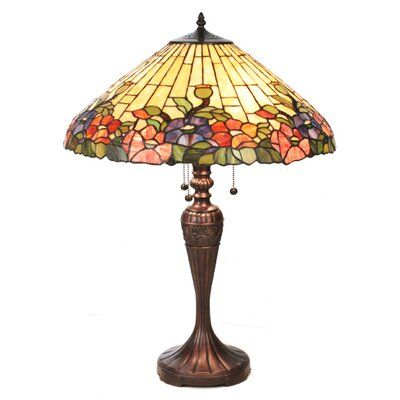 Meyda Tiffany Tiffany Hollyhock Table Lamp